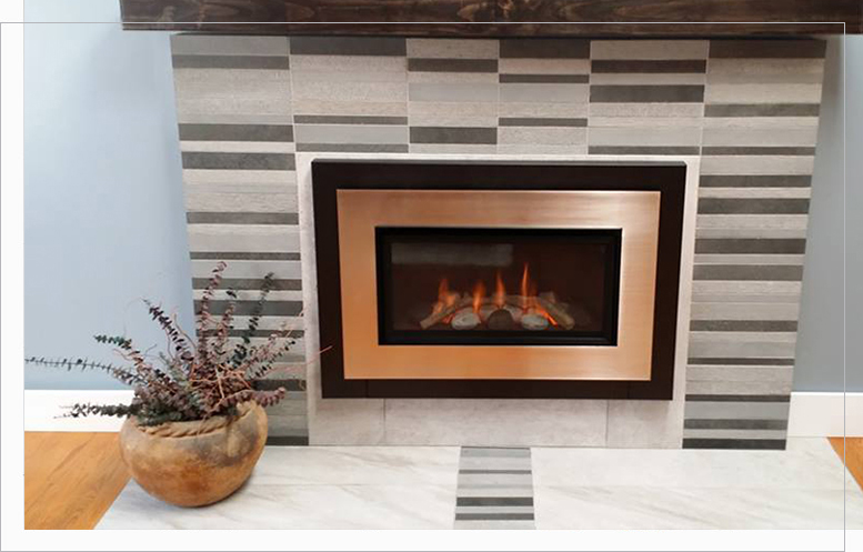 serviced fireplace by Alba City Gas